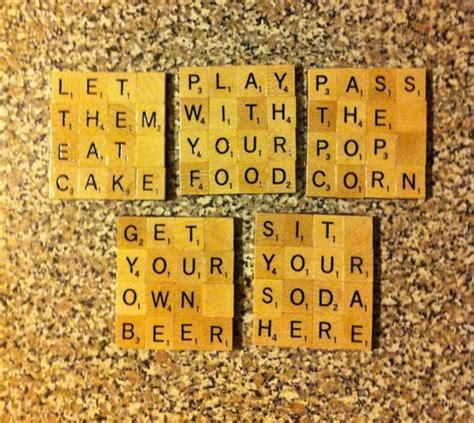 scrabble coaster words scrabble tiles babies and tile coasters on