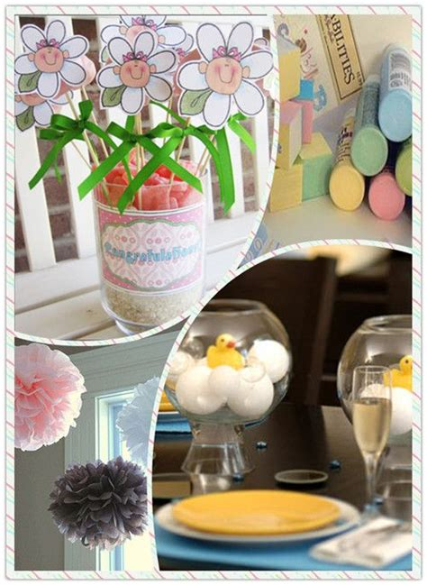 Handmade Centerpiece Ideas - 51 best images about fly themed baby shower on