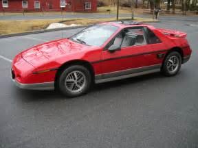 Pontiac Fero All American Classic Cars 1985 Pontiac Fiero Gt 2 Door