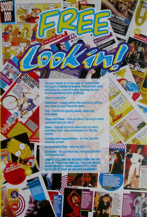 Looking For Free Search 1992 Free Look In Magazine Issued With Nestle Golden Grahams Cereal