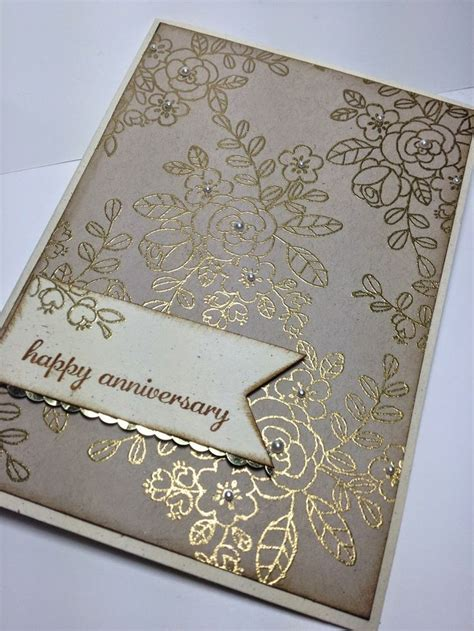 Handmade Greetings For Anniversary - best 25 handmade anniversary cards ideas on