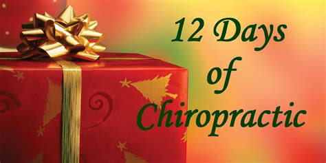 Chiropractic Giveaways - 12 days of chiropractic 2015 well beings chiropractic