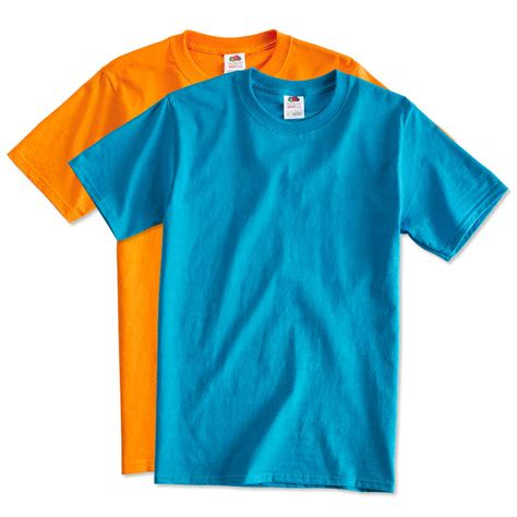 t shirt custom fruit of the loom 100 cotton t shirt design