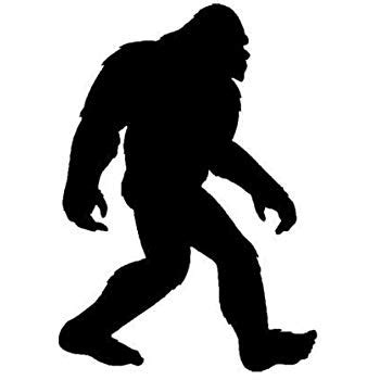 I Believe Bigfoot Sticker