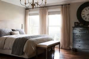 Grey Curtains On Grey Walls Decor Pretty Versace Bedding Fashion Dallas Transitional Bedroom Inspiration With Beige Curtain Panel