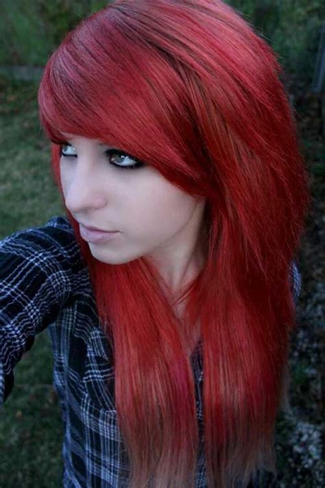 emo culture hairstyles 20 emo long hair hairstyles haircuts 2016 2017