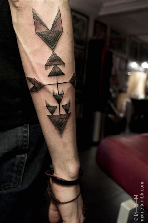 arrow tribal tattoo arrow tattoos and designs page 9
