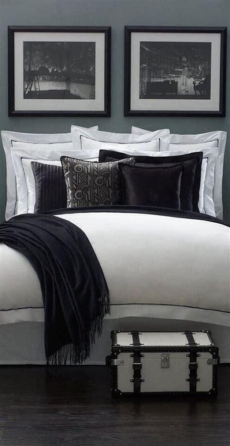 ralph lauren bedrooms ralph lauren black and white bedroom interiors pinterest