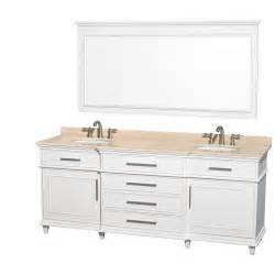 80 inch sink bathroom vanity wyndham collection wcv171780dwhivunrm70 berkeley