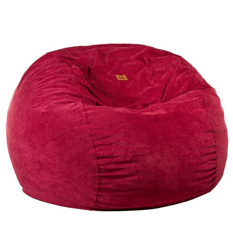 corduroy original bean bag size wine corduroy bean bag converts to a bed