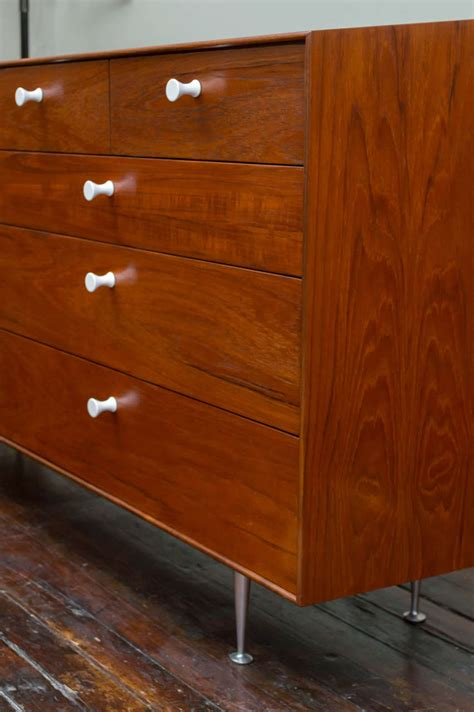 Thin Chest Of Drawers by George Nelson Quot Thin Edge Quot Chest Of Drawers At 1stdibs