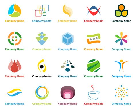 20 vector logo design templates 2 free vector 4vector