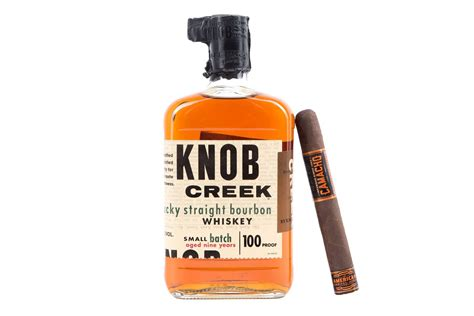 The Knob Creek by Pairing Guide Camacho American Barrel Aged Bourbon