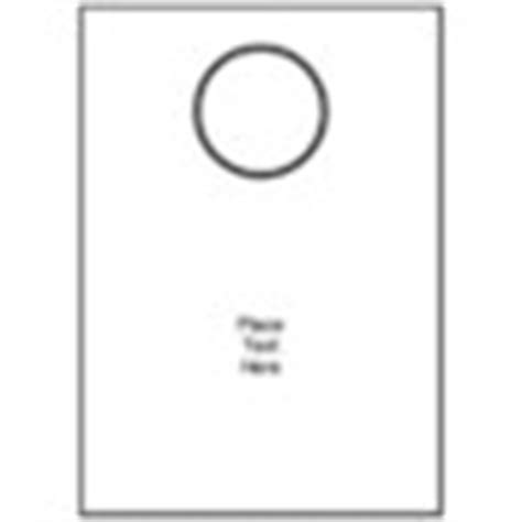 avery door hanger template template