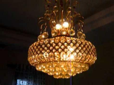 Home Lighting Design Dubai moving lights chandelier jhumar p1030571 mov youtube