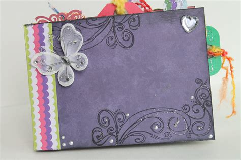 one of a handmade scrapbook scrapbook album photo