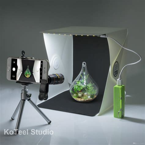 led lights for photography 2018 koteel mini photography studio light tent light room