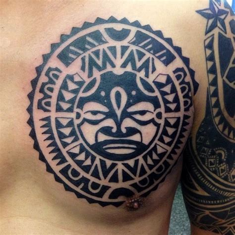 tribal sun tattoos for men 50 tribal sun designs for black ink rays