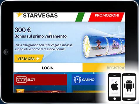 mobile senza deposito starvegas mobile per iphone e android