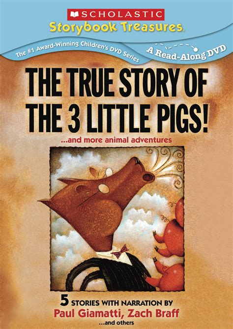 true story of the true story of the three pigs and more animal