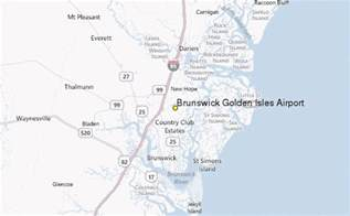 brunswick golden isles airport weather station record
