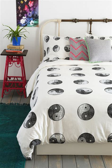 yin yang duvet cover urban outfitters