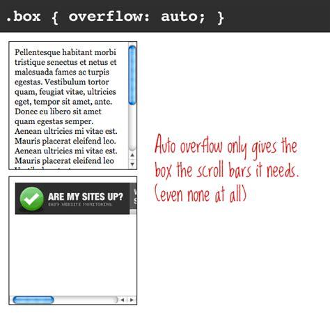 div overflow auto overflow css tricks