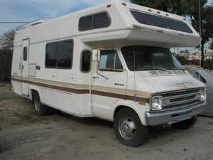 used rvs best small rv deal 1978 dodge renaissance for