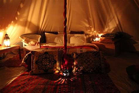 57 bed tent room in room a cozy bed tent bonjourlife active cosy warm interior of the 5meter bell tent this picture