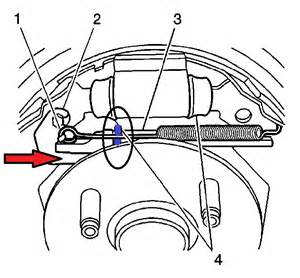 2004 saturn vue brake drum structure installation i have a 2003 saturn ion to repair the drum brakes