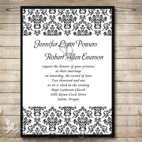damask wedding invitations damask wedding invitations cheap invites at
