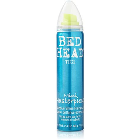 bed head masterpiece hairspray travel size bed head masterpiece shine hairspray