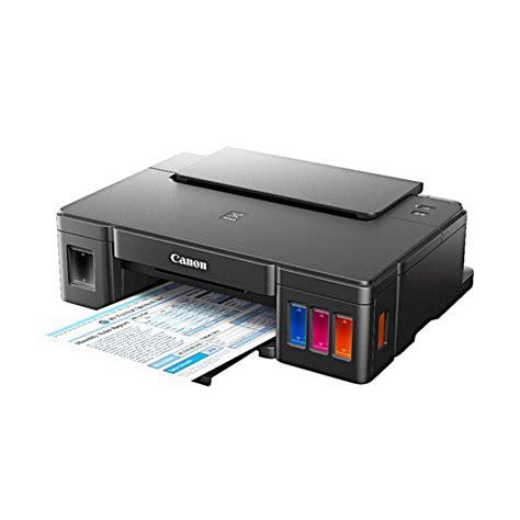 Printer Canon Pixma G1000 jual canon pixma g1000 printer hitam harga kualitas terjamin blibli