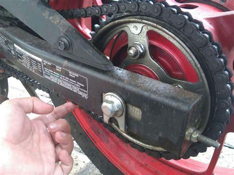 Rantai Keteng Beat Fi Scoopy Spacy Vario 110 Fi kapan sebaiknya mengganti rantai motor