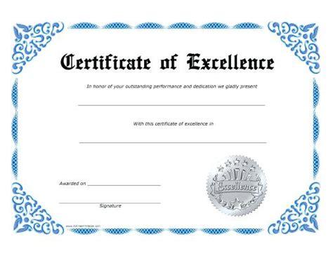 printable certificate responsibility award for kids