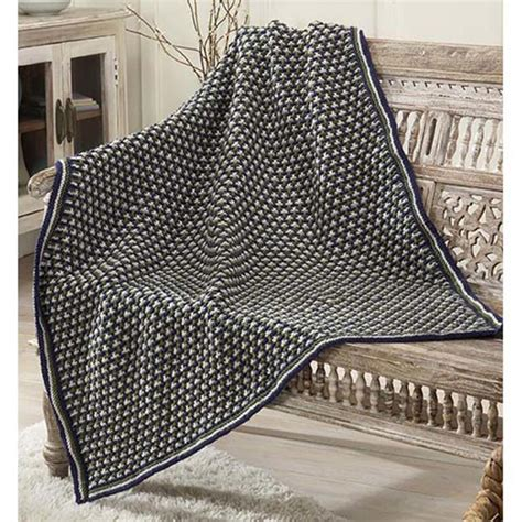 Free Knitted Blankets And Throws Patterns by Free Free Textured Blanket Knitting Patterns Patterns