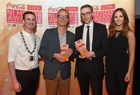 chris sullivan coca cola gallery cipr ni media award winners announced business