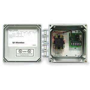 sje rhombus sje rhombus model 111 simplex single phase motor contactor or switch