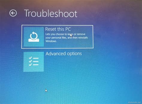 factory reset vista without password how to factory reset windows 10 without knowing the