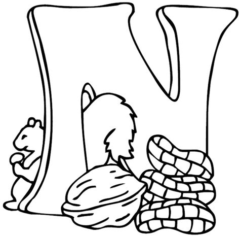 coloring pages for the letter n letter n coloring pages az coloring pages