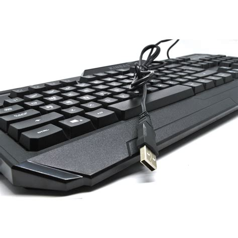 Keyboard Gaming Dengan Led Backlight Kinbas Vp X9 T1910 1 kinbas keyboard gaming usb dengan lu led vp x9