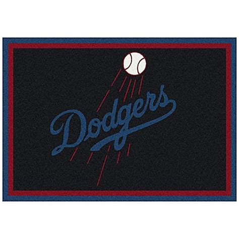 Baseball Bathroom Rug Mlb Los Angeles Dodgers Spirit Rug Bed Bath Beyond