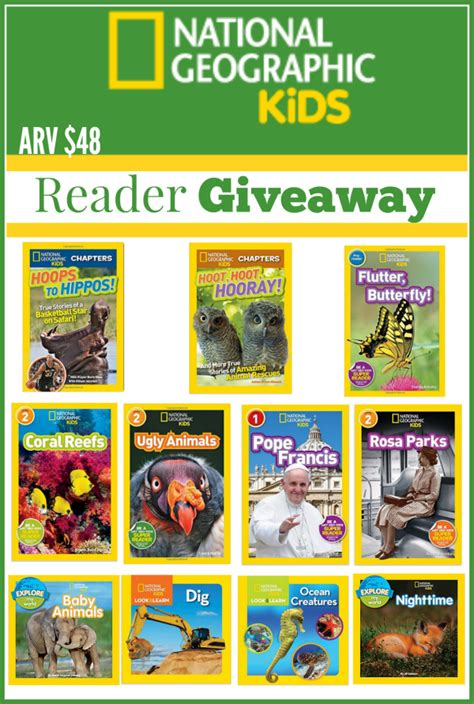 national geographic kids readers 1426314744 the mommy island reading rocks with national geographic kids giveaway hop