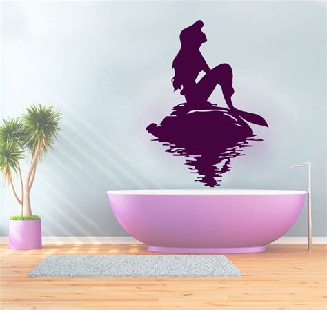 Tree Stickers For Walls wall decal best decor mermaid decals for walls mermaid