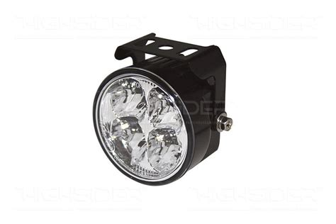 Lu Led Motor Tiger tiger 1050 led drl led daytime running lights with 4 power leds aluminium housing black