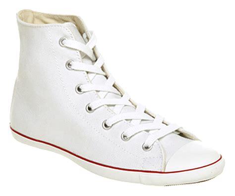 Converse High Ct White converse ct lite hi optical white in white lyst