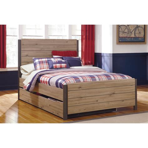 ashley trundle bed ashley dexfield panel trundle bed beds home
