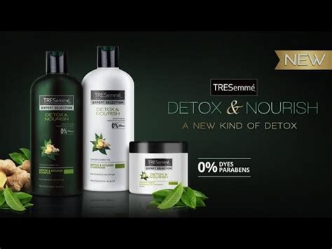 Detox Ads by Destress Your Tresses With Tresemm 233 Detox Nourish