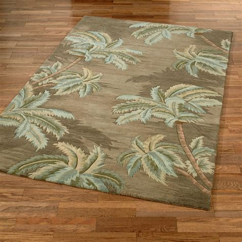 Palm Tree Bathroom Rug Palm Trees Area Rugs