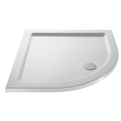Shower Trays by Pearlstone Quadrant Shower Tray At Plumbing Uk